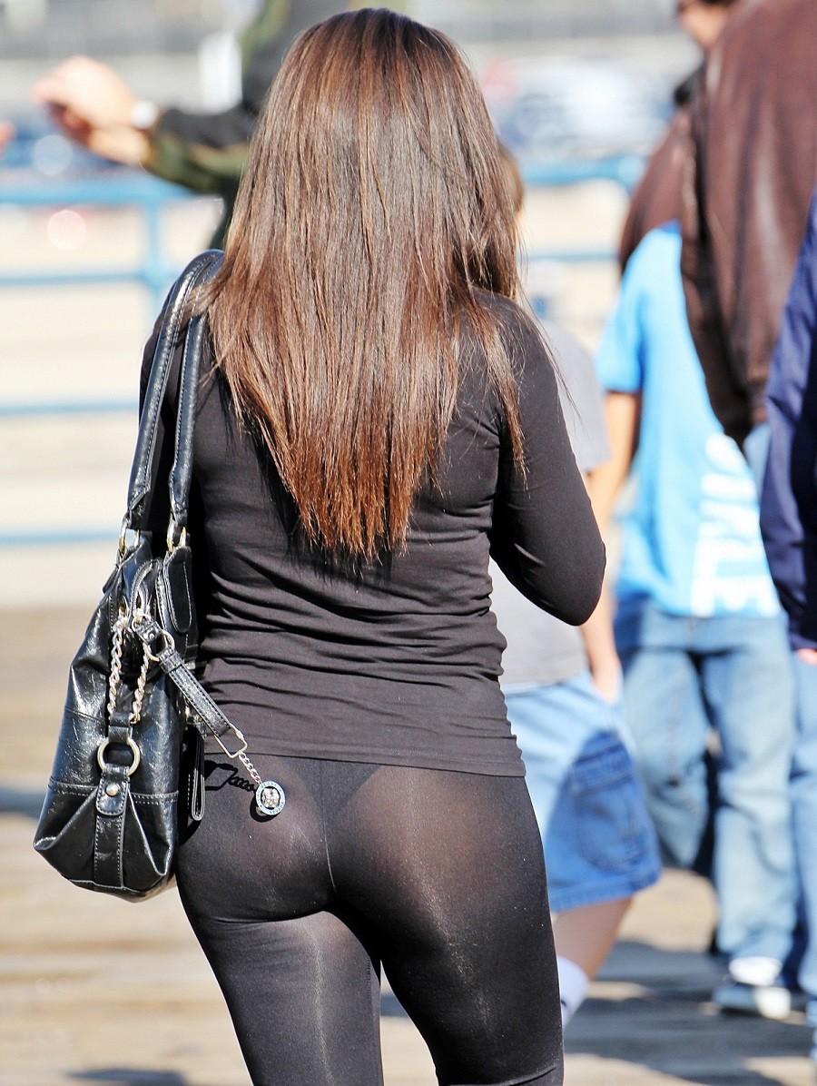 ま~んさん「レギンス履いてるから別にパンツ透けてもいいっしょ」 ← コレwwwwwwwwwwwwwwww(※画像あり※) 04