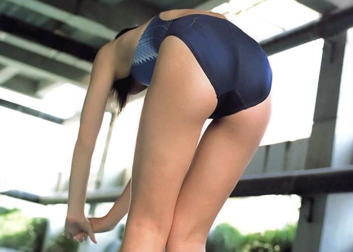 競泳水着女子のお尻を追いかけ回した結果wwwwwww(画像あり)
