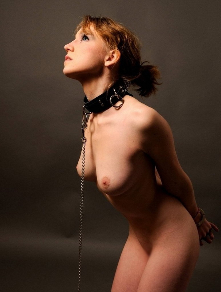 【SMエロ画像】尻尾があれば振ってそうw首輪に繋がれたMペットたちwww 13