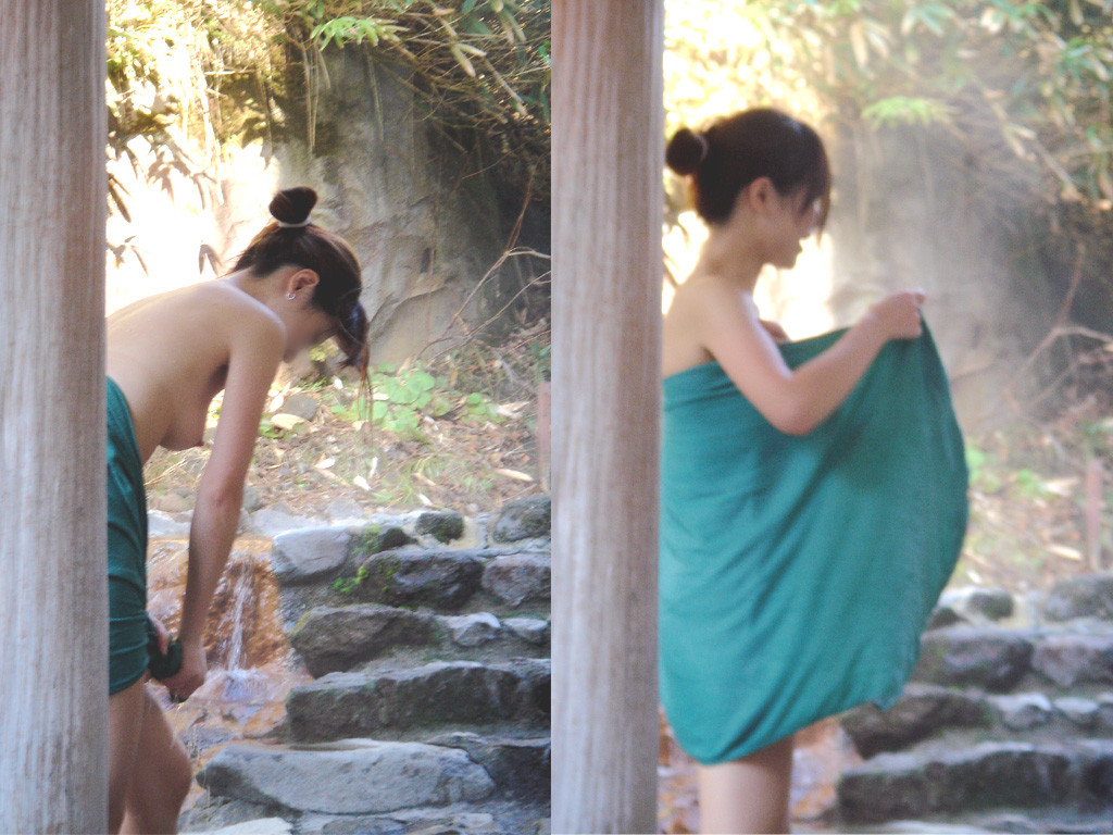 【女湯エロ画像】男子禁制だからロマンがそこに…女の風呂と脱衣所隠し撮り! 01