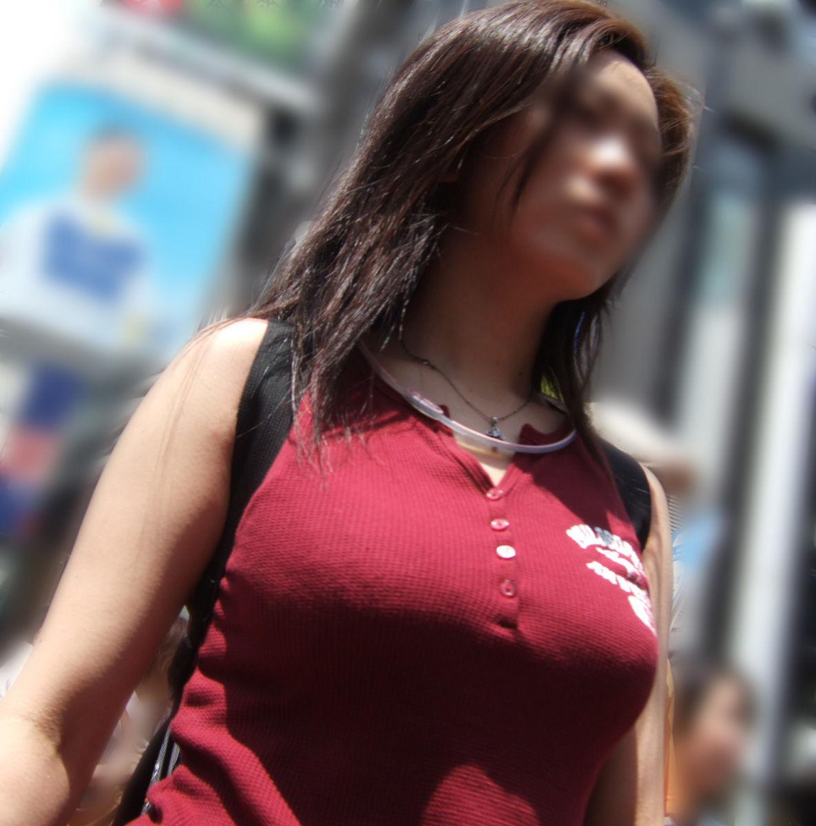 【巨乳エロ画像】その胸は原石!?まだ無名の巨乳持ちは街のいずこかにwww 08