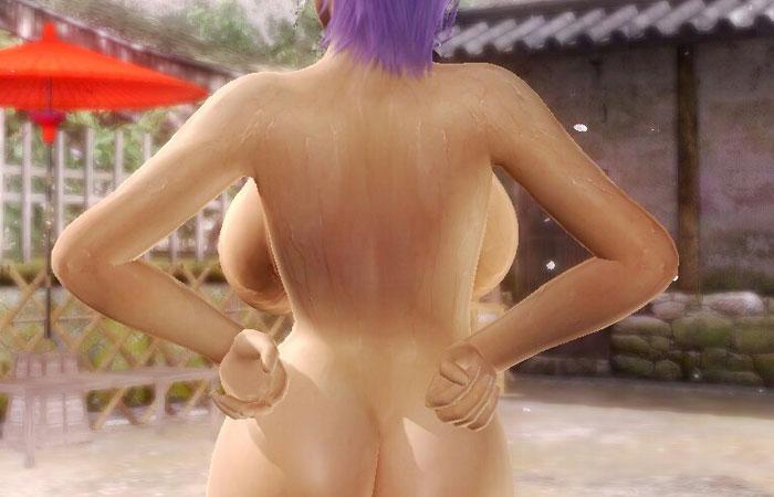 【二次エロ画像】背中向きでもデカいと見えちゃう!後ろから裏乳観察www 001